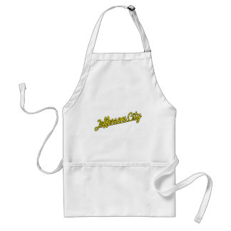 Jefferson City in yellow Adult Apron
