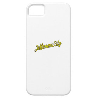 Jefferson City in yellow iPhone 5 Cover