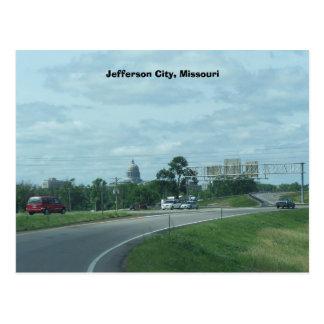 Jefferson city, MES. Área constructiva del capitol Tarjetas Postales