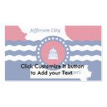 Jefferson City, Missouri, United States Double-Sided Standard Business Cards (Pack Of 100)