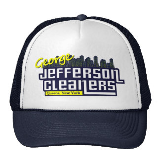 Jefferson Cleaners hat