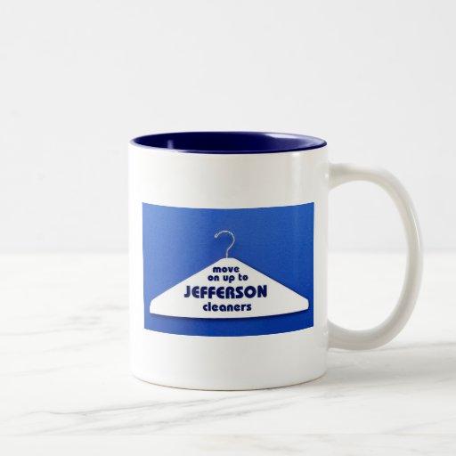 Jefferson Cleaners Two-Tone Coffee Mug