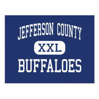 Jefferson County Buffaloes Middle Madras Postcard