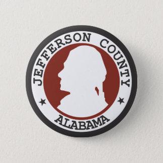 Jefferson county seal pinback button