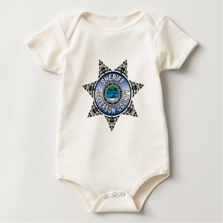 Jefferson County Tennessee Sheriff Badge Baby Bodysuit
