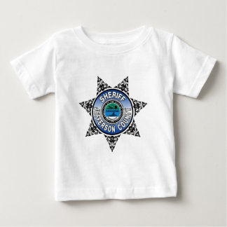 Jefferson County Tennessee Sheriff Badge Baby T-Shirt