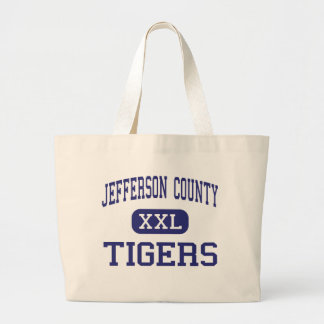 Jefferson County Tigers Middle Fayette Jumbo Tote Bag
