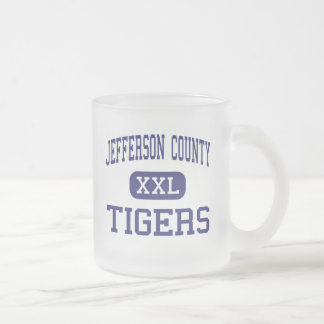 Jefferson County Tigers Middle Fayette Frosted Glass Coffee Mug