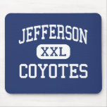 Jefferson Coyotes Middle Abilene Texas Mouse Pad