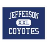 Jefferson Coyotes Middle Abilene Texas Postcard