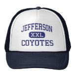 Jefferson Coyotes Middle Abilene Texas Trucker Hat