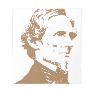 Jefferson Davis Libretas Para Notas
