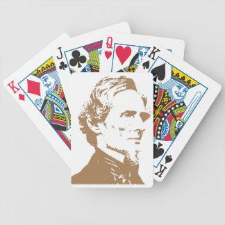 Jefferson Davis Baraja Cartas De Poker