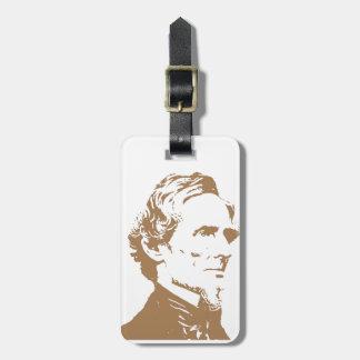 Jefferson Davis Etiquetas De Equipaje