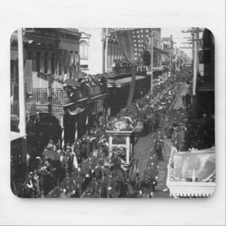 Jefferson Davis Funeral in New Orleans: 1908 Mouse Pad