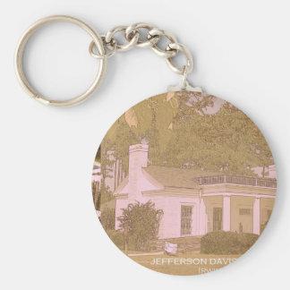 Jefferson Davis Historic Capture Site - Irwinville Basic Round Button Keychain