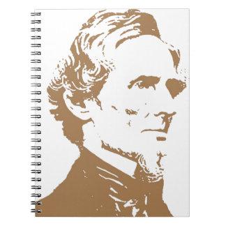 Jefferson Davis Libros De Apuntes Con Espiral