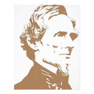 Jefferson Davis Membrete A Diseño