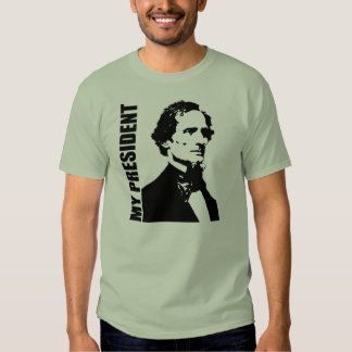 Jefferson Davis - mi presidente Playera