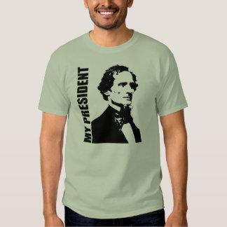 Jefferson Davis - mi presidente Playeras
