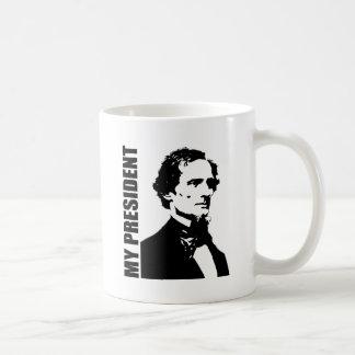 Jefferson Davis - mi presidente Taza Básica Blanca