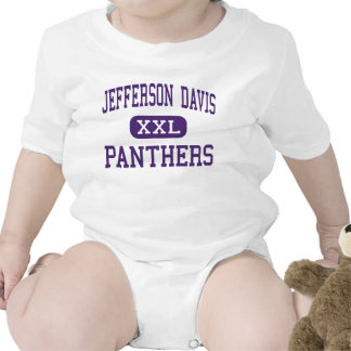 Jefferson Davis - Panthers - High - Houston Texas Rompers