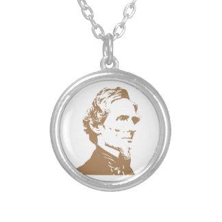 Jefferson Davis Personalized Necklace