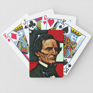 Jefferson Davis, President of the Confederacy Bicycle Playing Cards