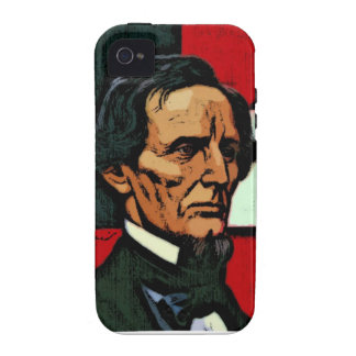 Jefferson Davis President of the Confederacy Vibe iPhone 4 Case