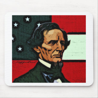 Jefferson Davis, President of the Confederacy Mouse Pad