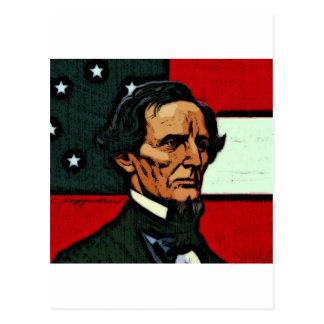 Jefferson Davis President of the Confederacy Post Card