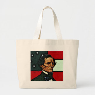 Jefferson Davis, presidente del Confederacy Bolsa Tela Grande