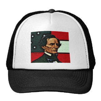 Jefferson Davis, presidente del Confederacy Gorros Bordados