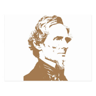 Jefferson Davis Tarjeta Postal