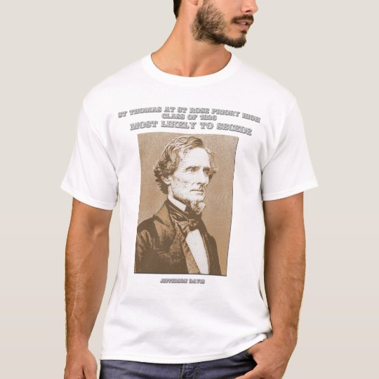 Jefferson Davis yearbook shirt