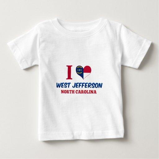 Jefferson del oeste, Carolina del Norte Playera
