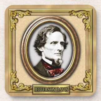 Jefferson F. Davis Civil War Coaster