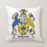 Jefferson Family Crest Pillows