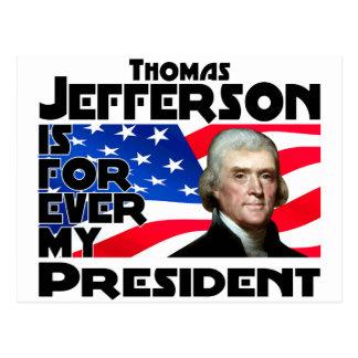 Jefferson Forever Postcard