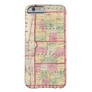 Jefferson, Franklin, condados de Williamson Funda De iPhone 6 Barely There