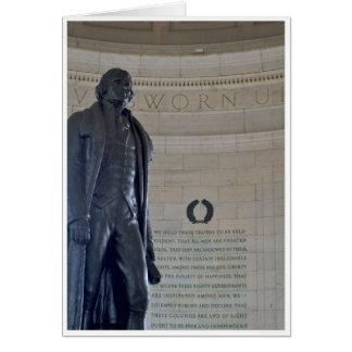 Jefferson Greeting Card