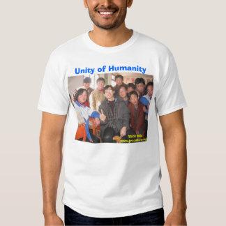 Jefferson in Gansu, Unity of Humanity, TECC 2004 T Shirt