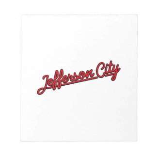 Jefferson in red notepad