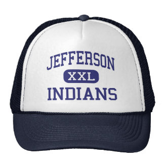 Jefferson - Indians - High - Daly City California Trucker Hat