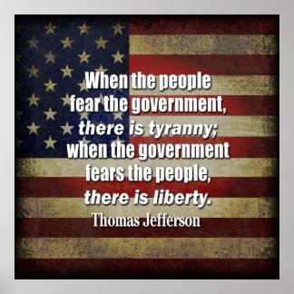Jefferson: Libertad contra tiranía Poster