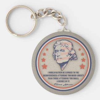 Jefferson Liberty II Keychain