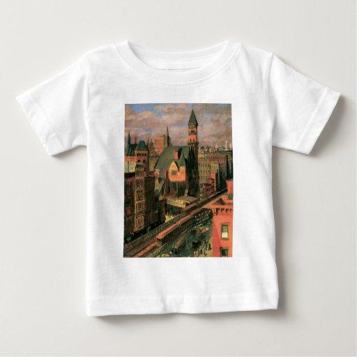 Jefferson Market, Sixth Avenue. New York c. 1917 Baby T-Shirt