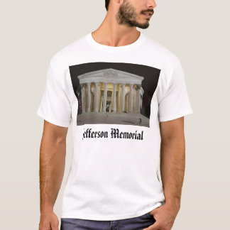 Jefferson Memorial at Night, Jefferson Memorial T-Shirt