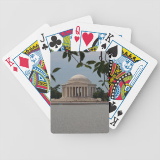 Jefferson Memorial Bicycle Playing Cards