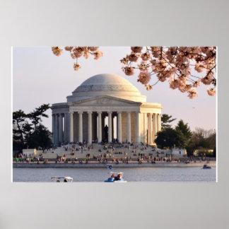 Jefferson Memorial/Cherry Blossom Festival poster